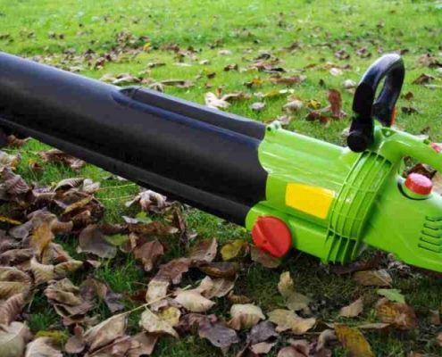 Leaf blowers terminology